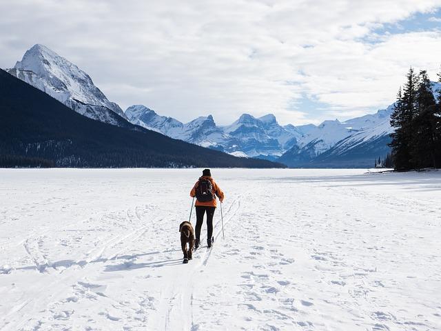 zamrzlé maligne jezero